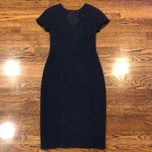 Black Halo navy blue dress size 6